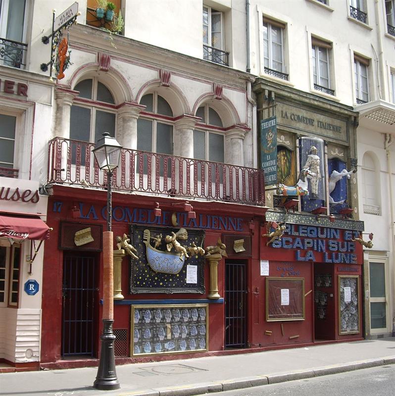 Les th tres rue de la ga t tourisme paris vacances for Liste des hotels paris