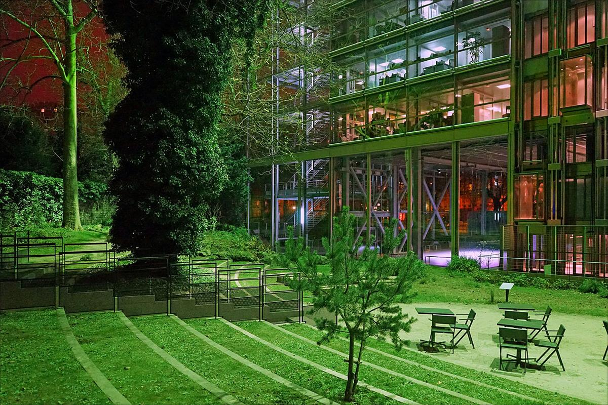 La fondation cartier tourisme paris vacances paris for Hotel contemporain paris