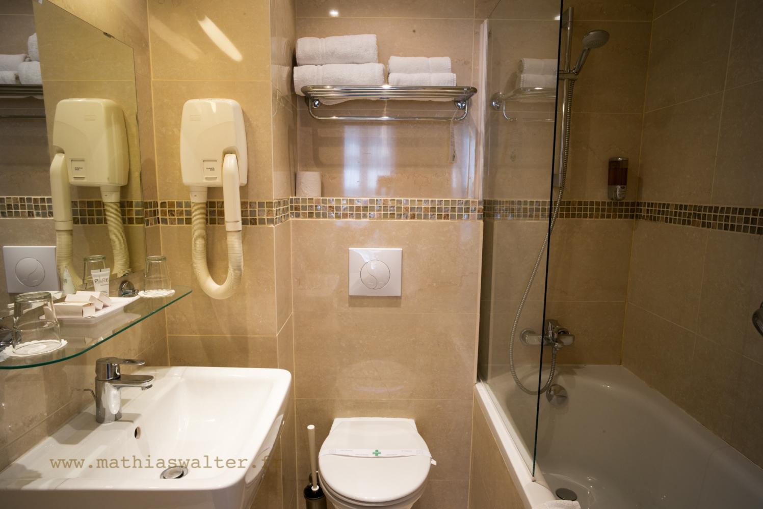 chambre double bain - chambre d'hôtel paris montparnasse 14