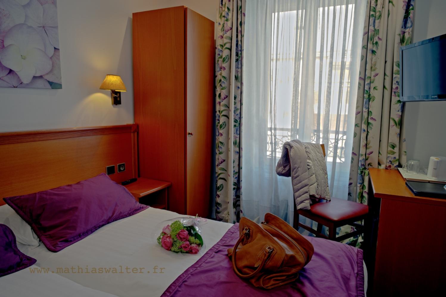 chambre twin bain - chambre d'hôtel paris montparnasse 14